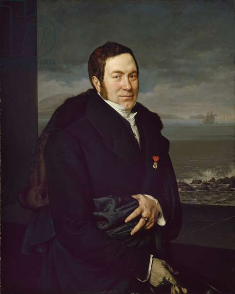 Portrait of a Man, c.1812 (oil on canvas)