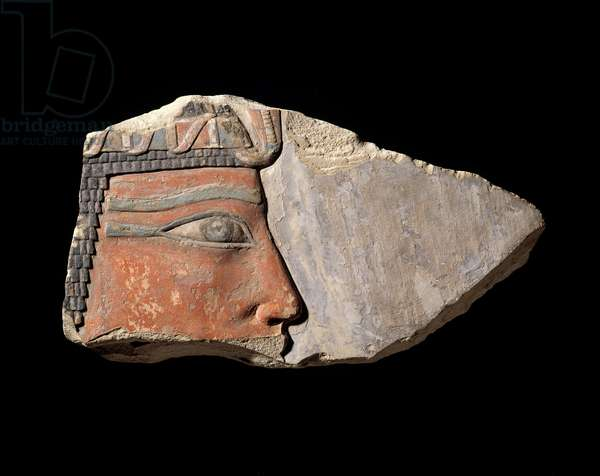 Relief of King Nebhepetre Mentuhotep II, Middle Kingdom, Dynasty 11, reign of Nebhepetre, 2061–-2010 B.C. (limestone)