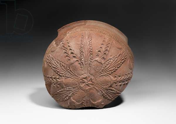 Fragment of early relief ware bowl (ceramic)