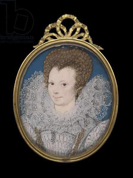 Portrait of a Lady, c.1592 (w/c on vellum)