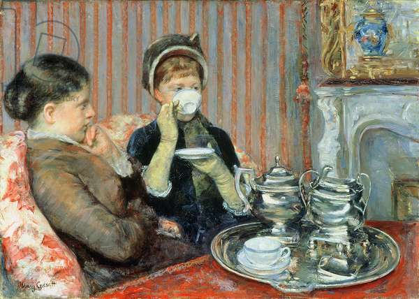 The Tea, c.1880 (oil on canvas)