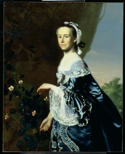 Mrs James Warren (Mercy Otis) c.1763 (oil on canvas)