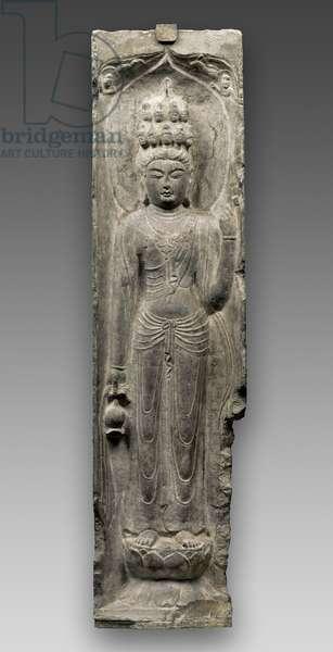 Eleven-headed Guanyin (limestone)