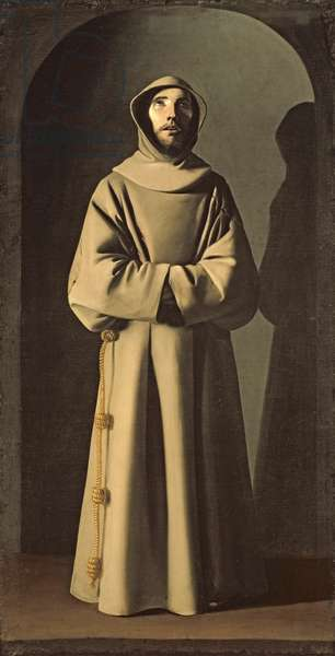 Saint Francis (c.1181-1226) c.1640-45 (oil on canvas)