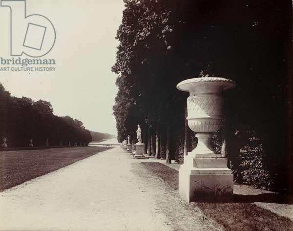 Versailles Park, 1902 (albumen print)