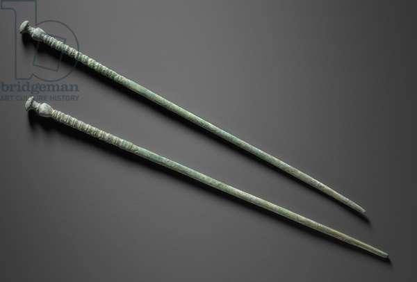 Chopsticks, Goryeo dynasty (bronze)