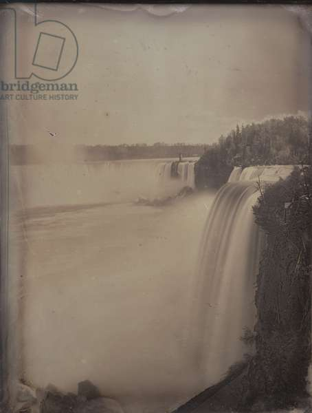 Niagara Falls from the Canadian side, c.1855 (daguerreotype)