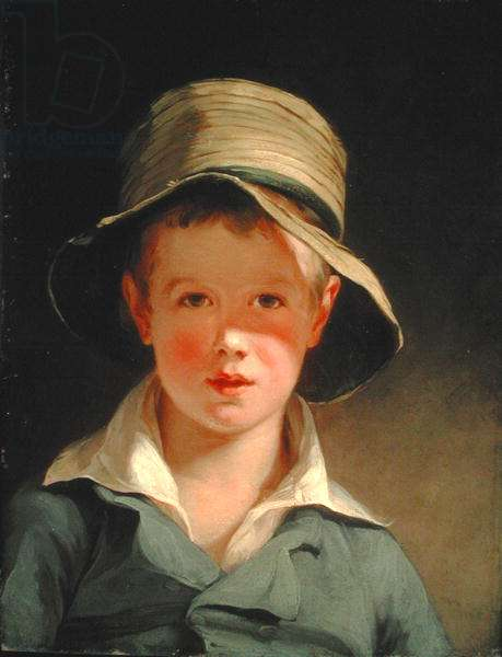 The Torn Hat, 1820 (oil on panel)
