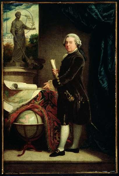 John Adams, after 1783 (oil on canvas)