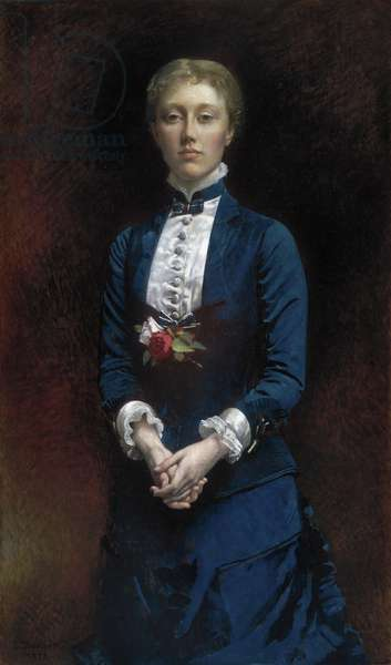 Mary Sears, 1878 (oil on canvas)