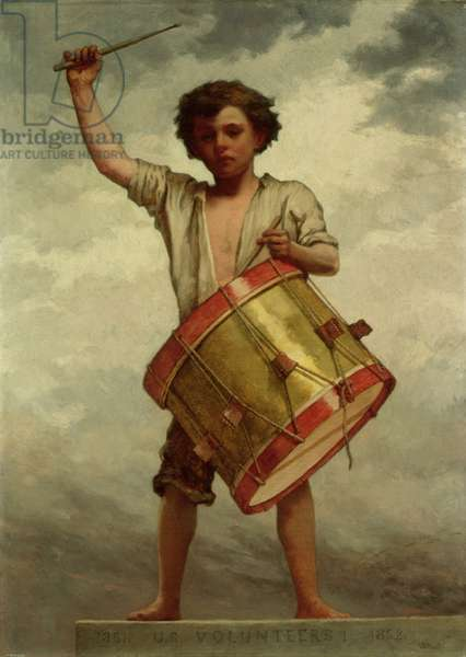 The Drummer Boy, c.1862 (oil on canvas)