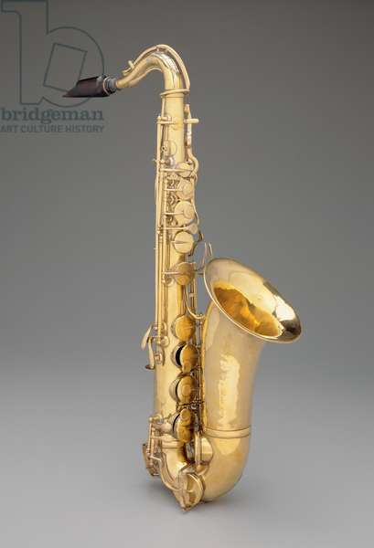 Alto Saxophone, c.1848 (brass)