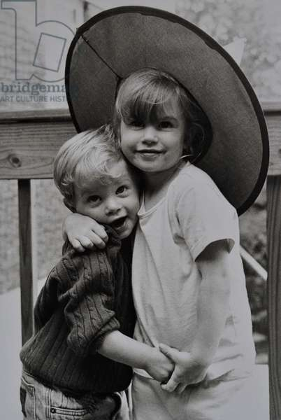 Brother and Sister, 1994, ( gelatin silver print)