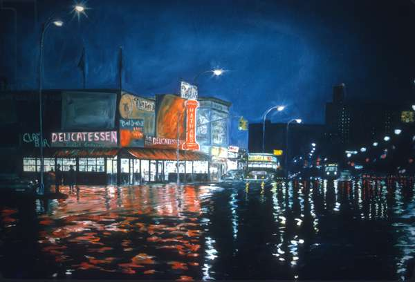 Nathan's , Coney Island,1970(oil on canvas)