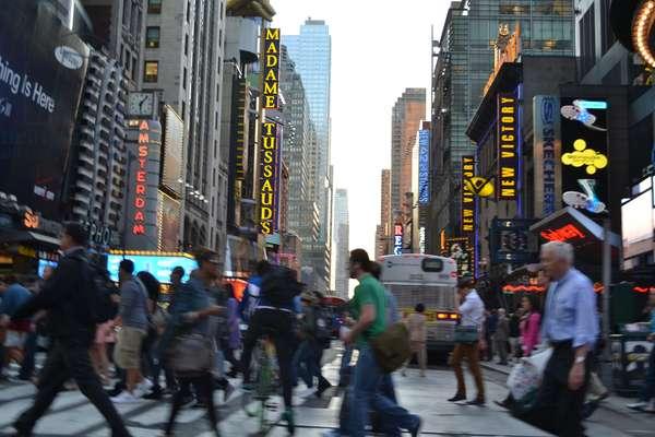 New York City, Pedestrians,2017, ( photograph)
