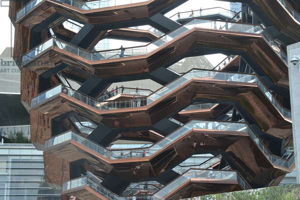 The Vessel, Hudson Yards, NYC, 2019,(photograph)