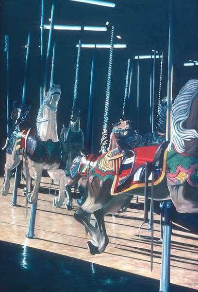 Carousel 1981(oil on canvas)