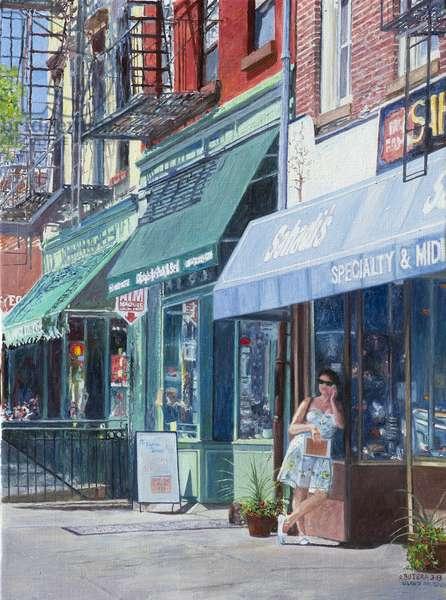Sahadi's, Atlantic Avenue, Brooklyn, NY, 2013 (oil on canvas)