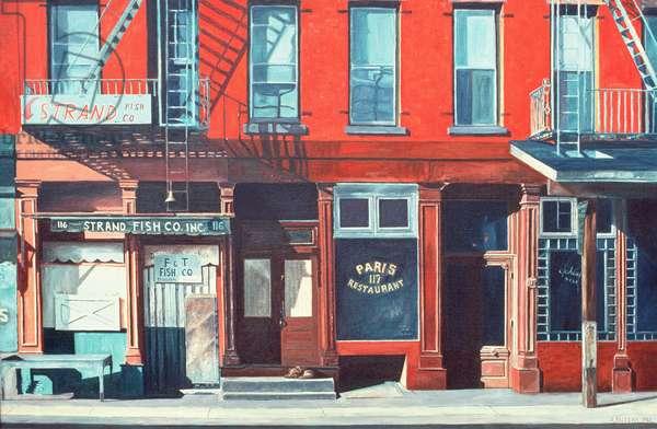 South Street, 1983 (oil on canvas)