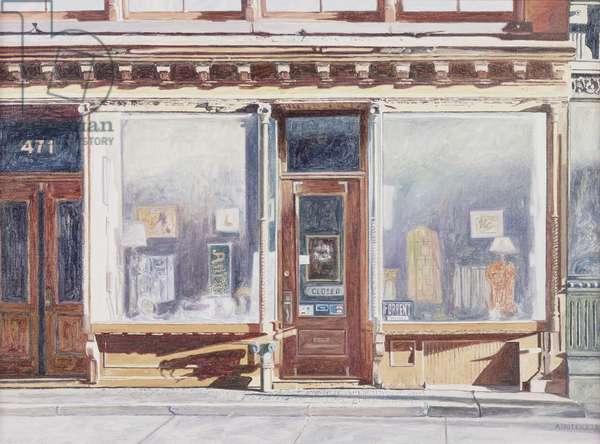 471 West Broadway, SoHo, New York City, 1993 (oil on canvas)