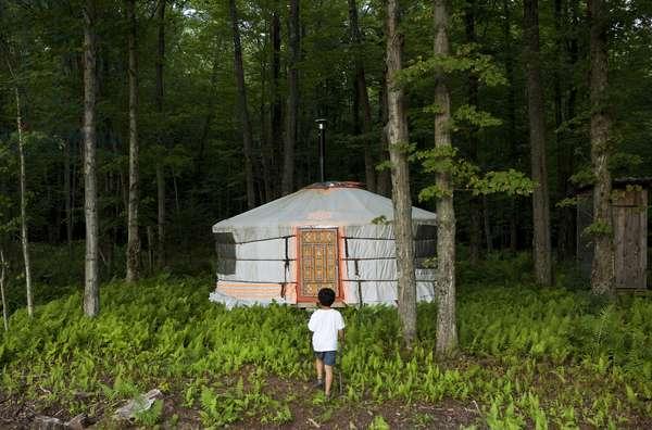 Yurt, Canada (photo)