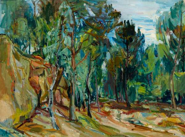 Forest of Rambouillet, c.1931 (oil on canvas)