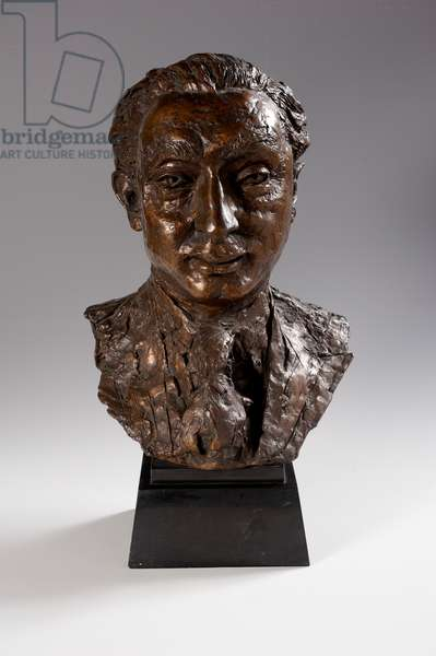 Alexander Margulies, 1963 (bronze on granite base)