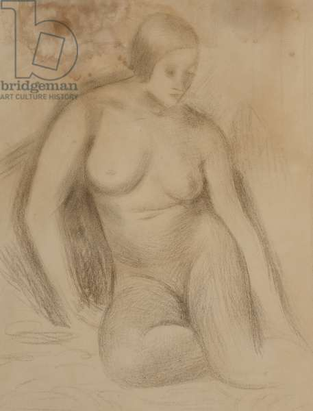 Nude Study (pencil on paper)