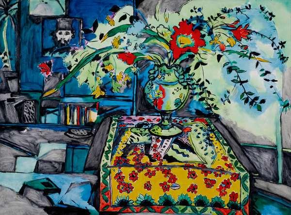 Claud's Still Life, 1983 (oil on canvas)