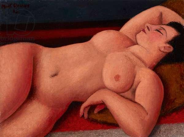 Nude, 1938 (oil on canvas)