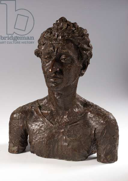 Bust of Jacob Kramer, 1921 (bronze)