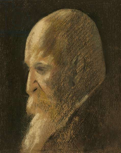 Portrait of Lord Rothschild, 1921 (pastel on paper)