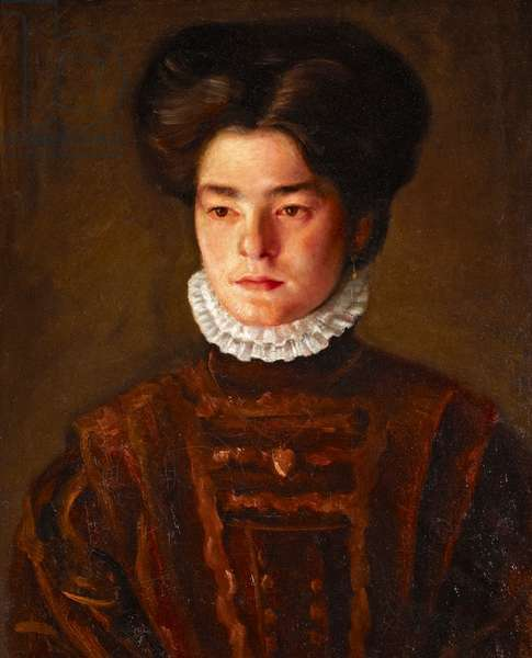 Portrait of a Girl, c.1908-11 (oil on canvas)