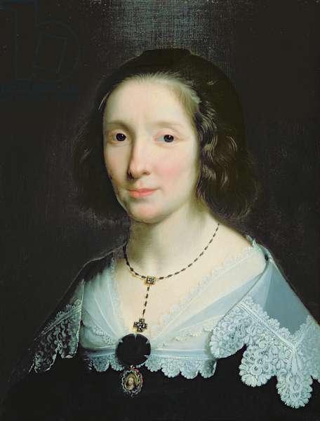 Portrait of Charlotte Duchesne (oil on canvas)