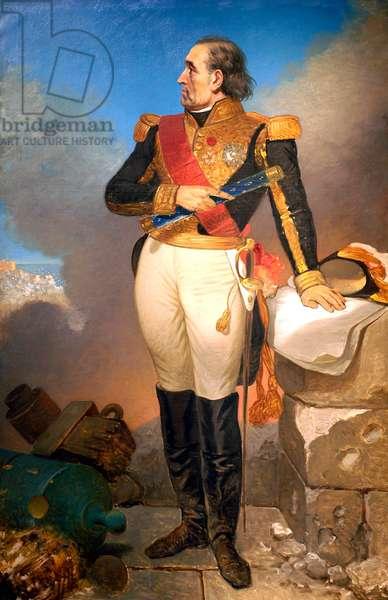 Portrait of Marechal Soult, Duc de Dalmatie, c.1819-35 (oil on canvas)