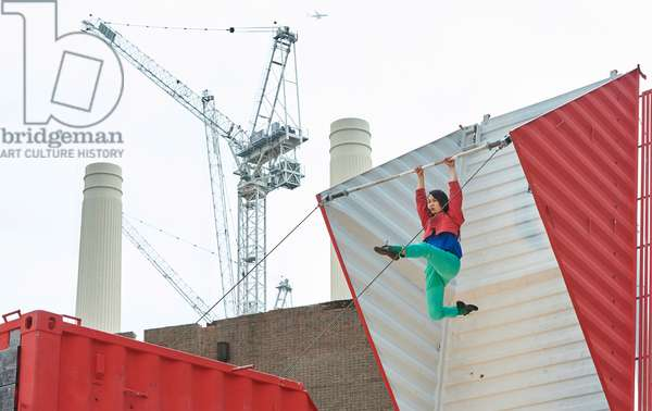 Choreographer Satchie Noro performs the UK Premiere of Origami
