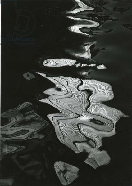 Water, Reflections, 1971 (silver gelatin print)