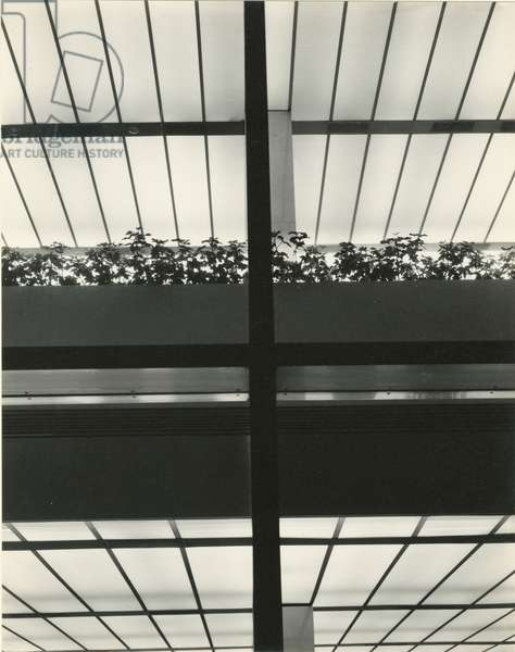 Manufacturers Hanover Trust, New York, 1957 (silver gelatin print)