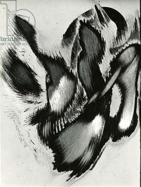 Abrasions, California, 1977 (silver gelatin print)