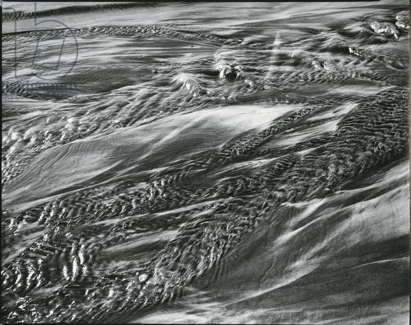 Sand and Water, c. 1965 (silver gelatin print)