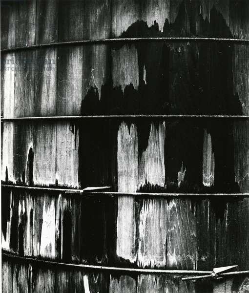 Wood and Metal, 1970 (silver gelatin print)