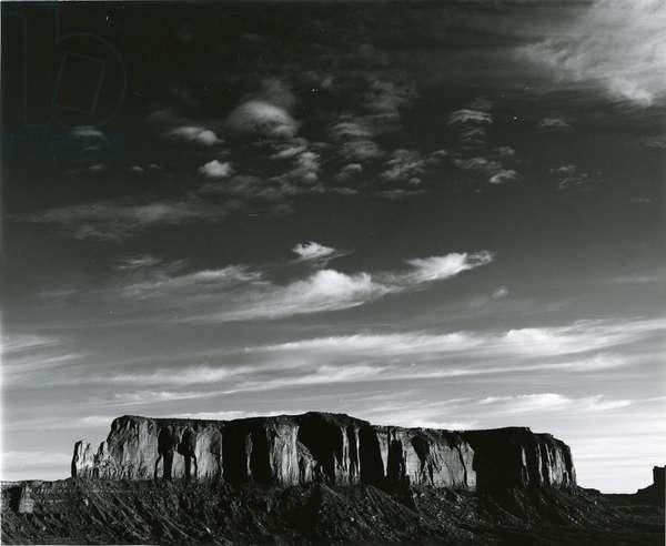 Rock Formation, Desert Landscape, c. 1970 (silver gelatin print)