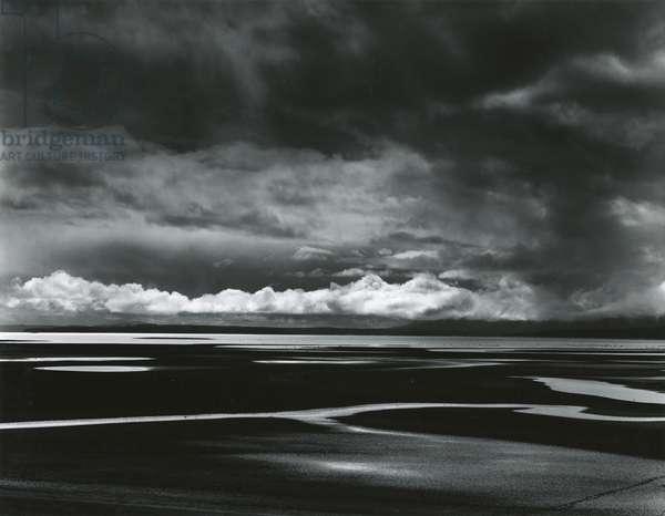 Shoreline, Big Sur, 1955 (silver gelatin print)