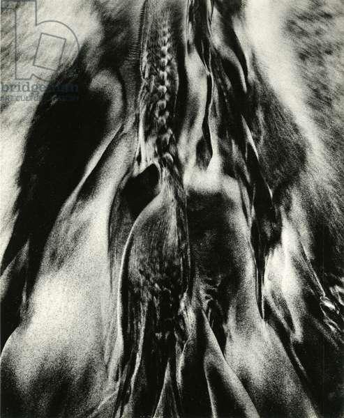 Sand, 1972 (silver gelatin print)