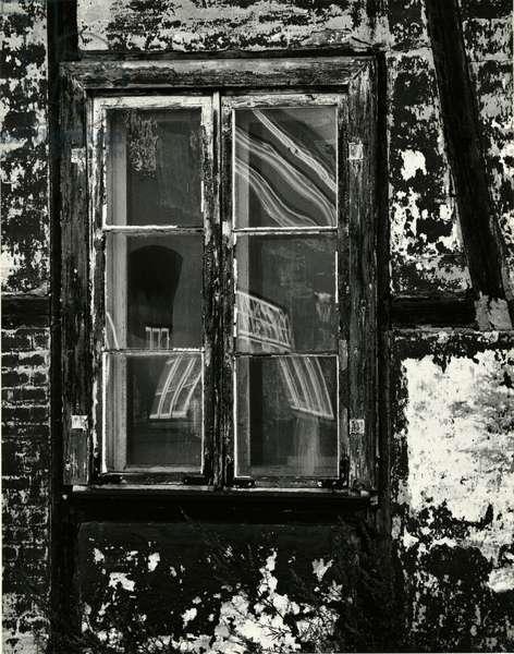 Window, Europe, 1972 (silver gelatin print)