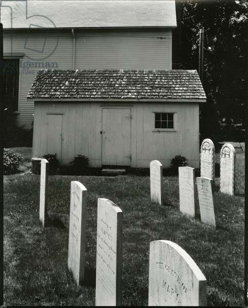 Cemetery, c.1950 (silver gelatin print)
