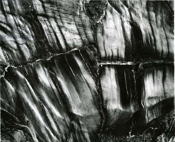 Rock Wall, c.1960 (silver gelatin print)