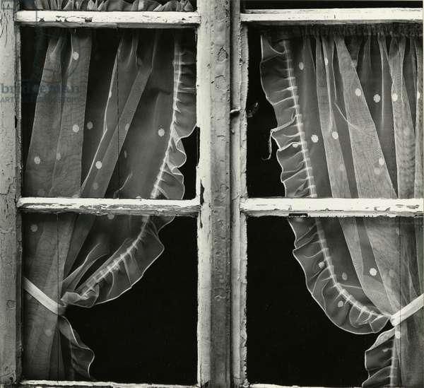 Window, Europe, 1971 (silver gelatin print)