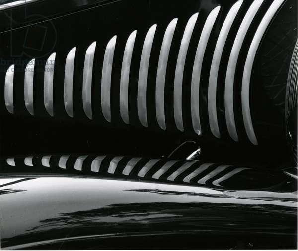 Car Detail, c.1980 (silver gelatin print)