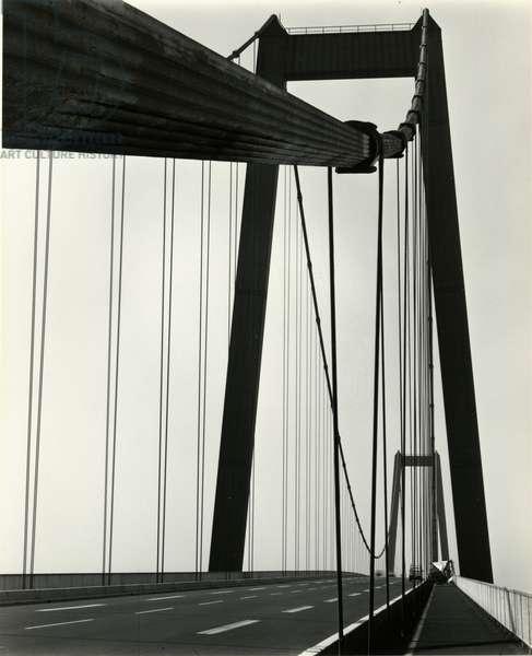 Bridge, Europe, 1971 (silver gelatin print)